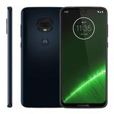 Smartphone Motorola Moto G7plus, 6,2 64gb, Dual Chip Indigo