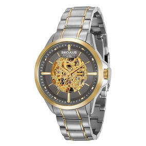 942ce4ae007 Relogio Seculus Esqueleto - Relógio Seculus Masculino no Mercado ...