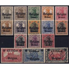 Alemanha - Ocupação Na Bélgica - Mi Nº 10/25 - N/u - Compl.