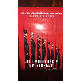 Poster Oito Mulheres E Um Segredo - Original De Cinema 90×60