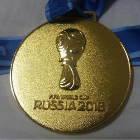 Medalha Ouro Da Copa Mundo Futebol Fifa Russia 2018