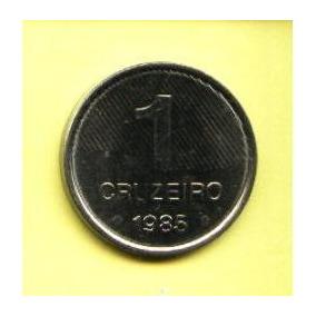 Egoto-v 348-escassa !!! Moeda 1 Cruzeiro 1985 Fao Inox Cana