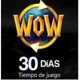Ficha Wow, Tiempo De Juego De World Of Warcraft Token 30 Dia