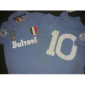 Camiseta Maradona Retro Napoli Buitoni - Camisetas en Mercado Libre ... b4c96c42f8e3e