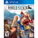 One Piece Ps4 World Seeker Disponible