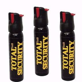 3 Gas Pimienta Spray Lacrimogeno Alta Seguridad Proteccion