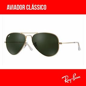 7c9ff54955b43 Óculos De Sol Ray Ban Aviador Original Com Garantia - Óculos no ...