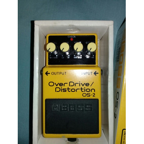 Pedal Guitarra Electrica Boss Os 2 Overdrive Distortion