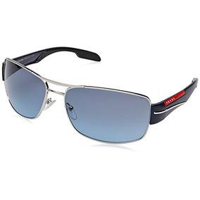 cbdb5f3c4e Gafas De Sol Prada Sport - Ps53ns Marco: Plata Azul Lente: