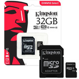 Memoria Micro Sd 32gb Clase 10 Kingston Full Hd Microcentro