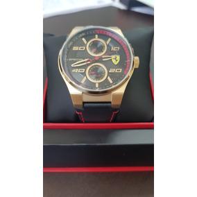 Reloj Ferrari 100% Genuino. Nuevo. Pulso De Cuero!!