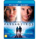 Passageiros - Blu-ray 3d + Blu-ray