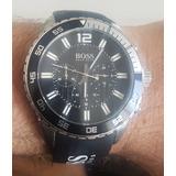eea6b39d5f1 Relógio Hugo Boss -cronógrafo- Hb.172.1.27.2463 -masculino