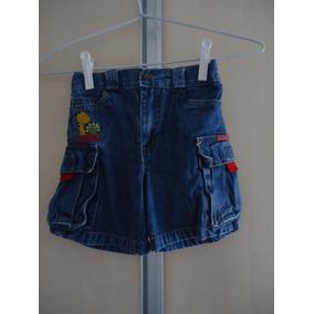 Bermuda Jeans Infantil Para 2/3anos Usado