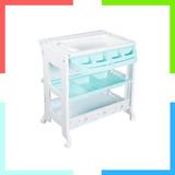 Bañeras Para Bebe 3 X 1 Con Mueble Azulito Organizador Ebaby