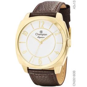 Relógio Champion Elegance Masculino Dourado - Relógios De Pulso no ... de78562985