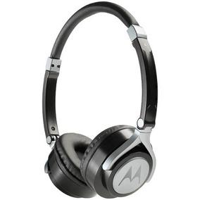 Fone Estereo Com Fio Moto Pulse 2 Wired On Ear Preto