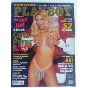 Carla Perez - Rev. Playboy - Dezembro 2000 - Completa