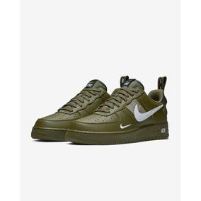 Tenis Nike Air Force 1 07 Lv8 Utility Negro Total 2019