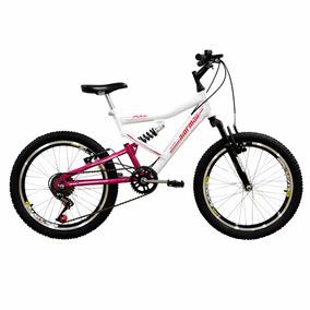 Bicicleta Aro 20 Full Fa-240 Mormaii Fem. C/ Suspensão