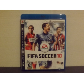 Ps3 Fifa Soccer 10 - Completo - Aceito Trocas...