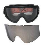 Óculos Proteção Airsoft Paintball Tático Com 2 Lentes d2fadac2a1