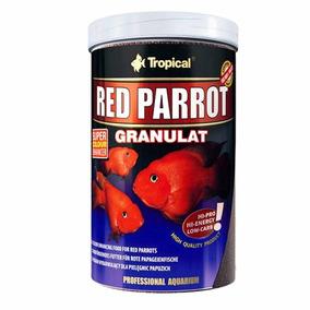 Ração Para Peixe Red Parrot Granulat 100g Tropical