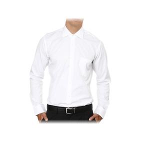 Scappino Camisa Blanca Hombre Corte Slim Fitt Talla 16.5-3