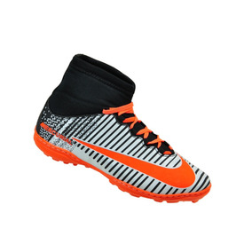 cd411e0871 Chuteira Adidas Cano Alto - Chuteiras para Adultos Laranja no ...