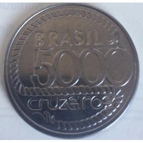 Moeda 5000 Cruzeiros Tiradentes -1992 - Fc