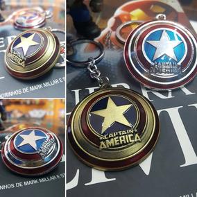 Chaveiro Escudo Capitão America