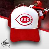 Boné Reds Major League Baseball Trucker Snapback Vermelho 5d0233a8f06