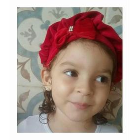 Boina Gorro Infantil Bebe Plush Rn A 12 Meses. e20c76ec9e3