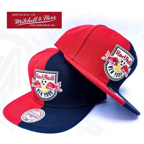 Jockey Snapback Red Bull New York Mitchell And Ness c543486956d