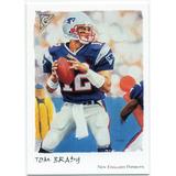 2002 Topps Gallery Tom Brady New England Patriots