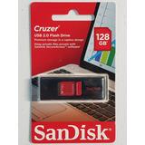 Usb 128gb Sandisk Usb 2.0 Remate Envío Gratis