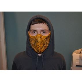 Mascara Mortal Kombat X Scorpion New