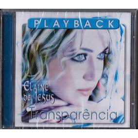 cd elaine de jesus transparencia play back