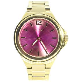 Relógio De Ouro Marca Euro - Joias e Relógios no Mercado Livre Brasil 7b36e890eb