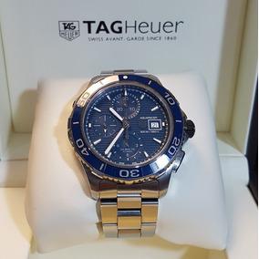 556635e22e3 Tag Heuer Aquaracer Azul Ceramica Calibre 16 Cak2112.ba0833