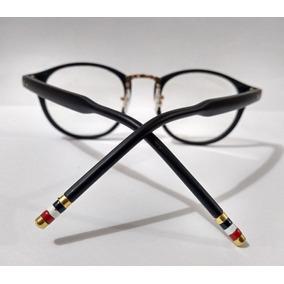 Armacao Oculos Feminino Grau Redonda Em Promocao - Óculos Preto no ... cf0932a067