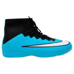 Chuteira Nike Futsal Botinha Cr7 Azul E Laranja - Chuteiras no ... e5cc303c8de38