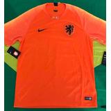 Camisa Oficial Nike Seleção Holanda 2018 Tamanho G Item Únic ac6bd911f209a