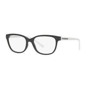 050e8196561 Armação Oculos Grau Armani Exchange Ax3037 8204 53 Preto Bra