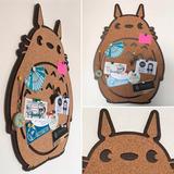 Pizarra De Corcho Totoro Pizarra Decorativa Anime Miyazaki