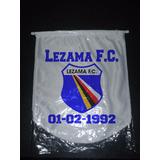 Banderin Grande Lezama Fc 36x33 Cm