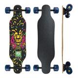 Skate Longboard Barato Completo - Frete Grátis Roda 70mm