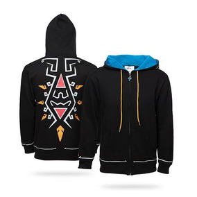 Sudadera Zelda Breath Of The Wild Zipper