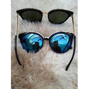Oculos Feminino Espelhado - Óculos De Sol, Usado no Mercado Livre Brasil f69437ef2d