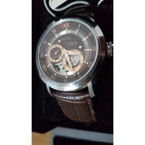 Relógio Bulova 96a120 Mecânico Automático - Novo E Original